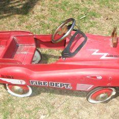 Vintage fire car $150