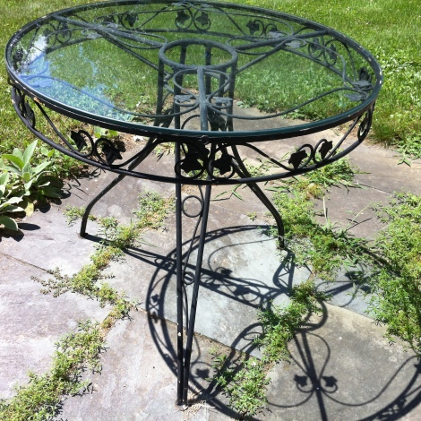 wrought iron $375