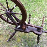 Spinning wheel made in Canada $200