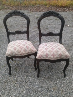 Victorian chairs $45 each