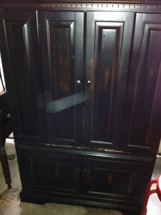 Entertainment center $250