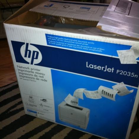 HP Laser Jet 2035 - $150