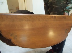 Hitchcock dining table $1,000