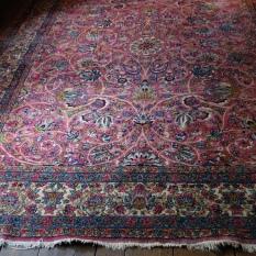 (2) Kerman 8.6 x 11.6 $2000