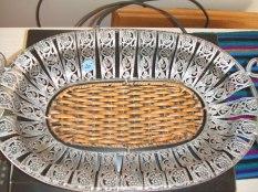 metal basket $20