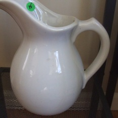 vintage pitcher $125