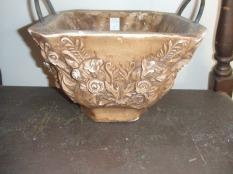 heavy flower pot $45