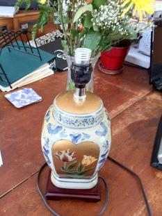 lamp oriental $100