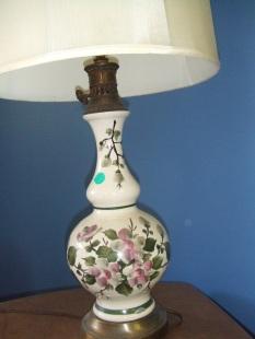 ceramic lamp (2) $75 each