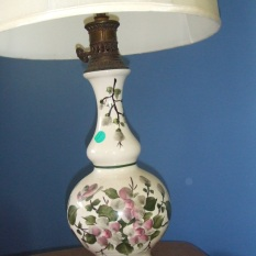 ceramic lamp (2) $75 each
