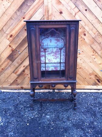 Hutch Solid wood 31.5 w x 58 tall 13 d $175