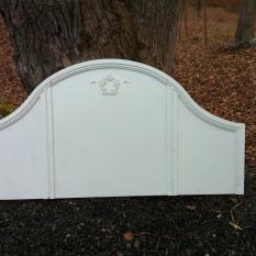 white Shabby 62 x 51.5 - Queen $250