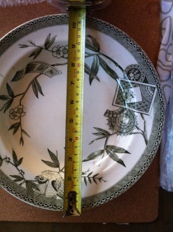 Wedgewood Louise green bowls (6 available) $50
