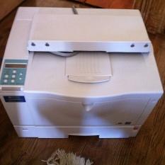 printer Ricoh Aficio AP610N laser printer $225