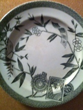 "Wedgwood Plates Louise rare Green plates 8.5"" AESTHETIC TRANSFER WAre (7 available) $49.99"