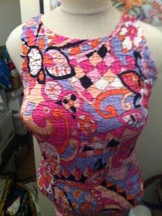 Sassia-Paris-Size-s-Top-multi-color-elastic-fit-so-cute $29.99