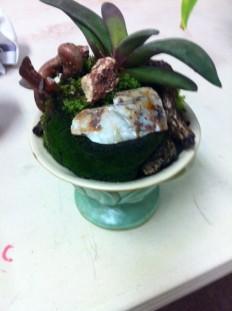 Ceramic planter $95