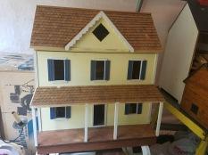 $350 wood shingle roof/yellow