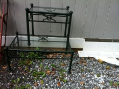 table end and coffee $300