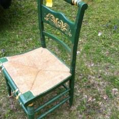 wicker chair seat $90
