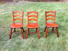 6 chairs $350 we have matching table
