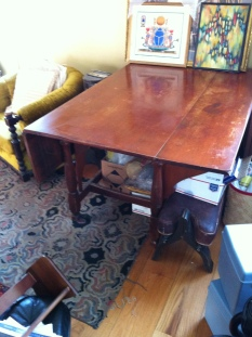 wedding table $350 (matching chairs set of 6 $300)