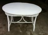 wicker table $75