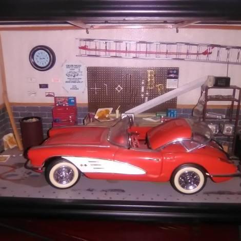 Franklin Mint 1958 D10 Corvette Garage Car Model $250