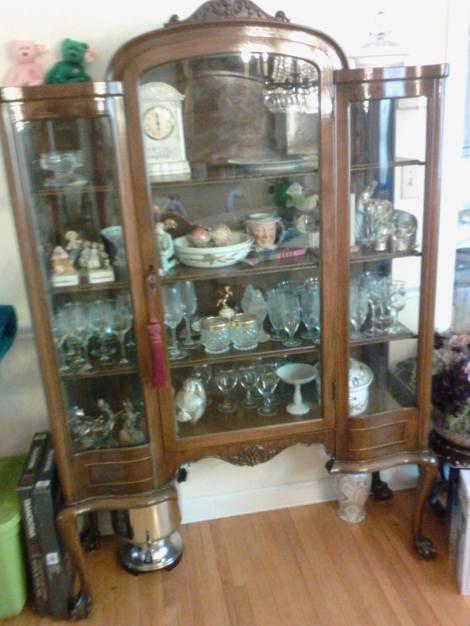Vintage glass, light $2,000