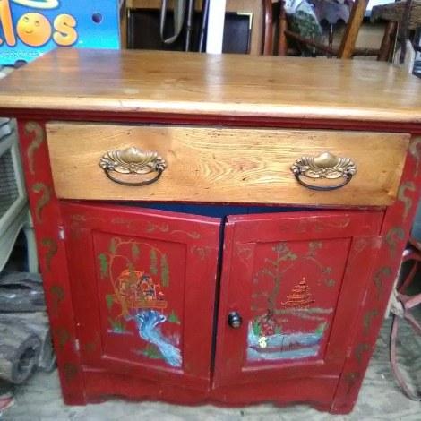 vintage cabinet $475