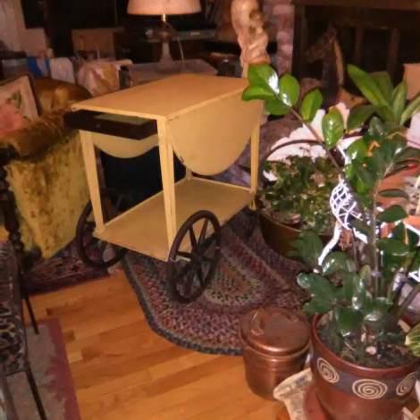 drop leaf tea/liquor cart $975